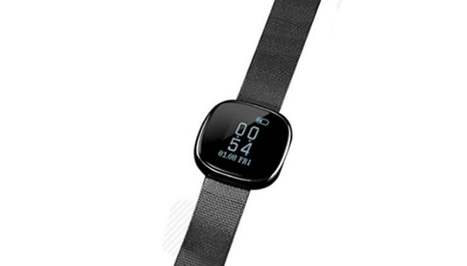 Smart Watch with Heart Rate & Blood Pressure Monitor - 3 Colours