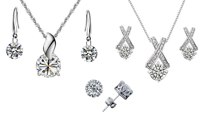 Mystery Jewellery Gift - Pendant Sets, Hoop Earrings, Studs