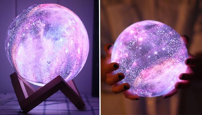 3D USB Moon Lamp - 4 Sizes