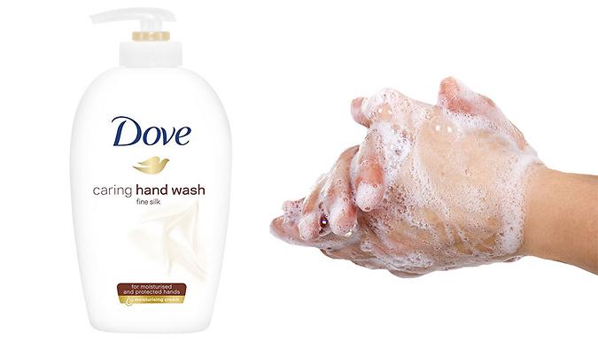 6-Pack of Dove Liquid Silk Hand Wash 250ml from Ebeez