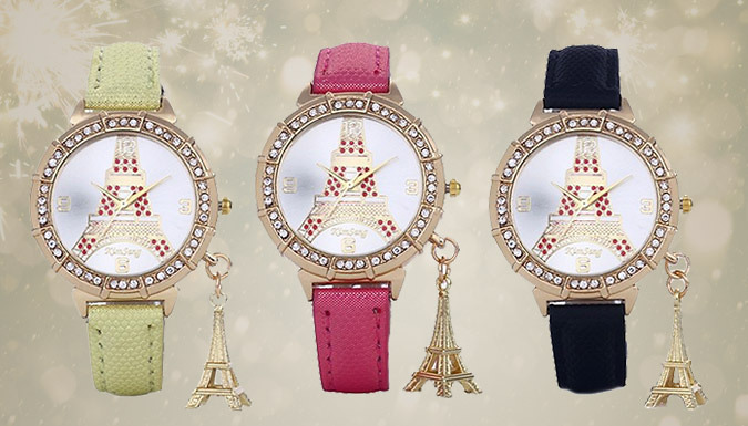 Choice Of 3 Eiffel Tower Watches