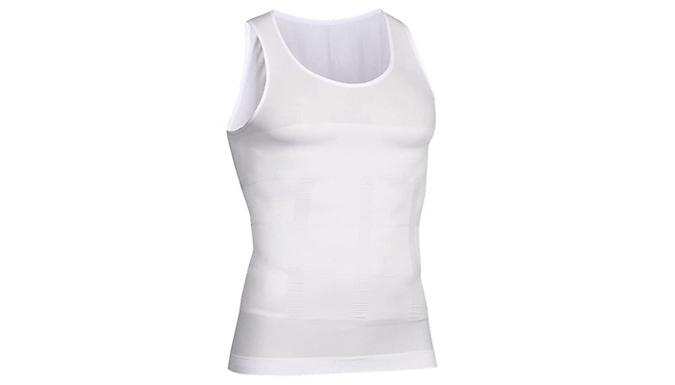 Men's Nylon Shapewear Vests - 2 Colours & 4 Sizes