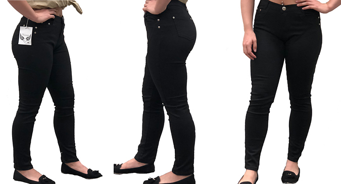 Add an essential piece to your wardrobe with the Womens Skinny Fit Denim Jeans Choose from