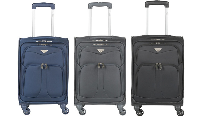 PERCIVAL 39L Cabin Hand Luggage - 3 Colours from Mriah LTD