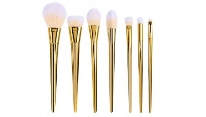 7-Piece Professional Makeup Brush Set