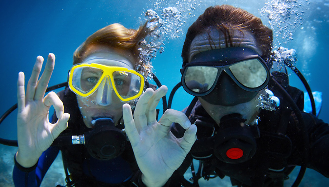 60-90 Minute Scuba Diving Lesson For Two - 30 UK Venues