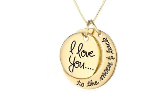 Compare retail prices of 'Moon and Back' Necklace - 3 Colours to get the best deal online