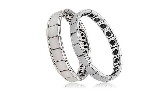 Stainless Steel Germanium Energy Bracelet