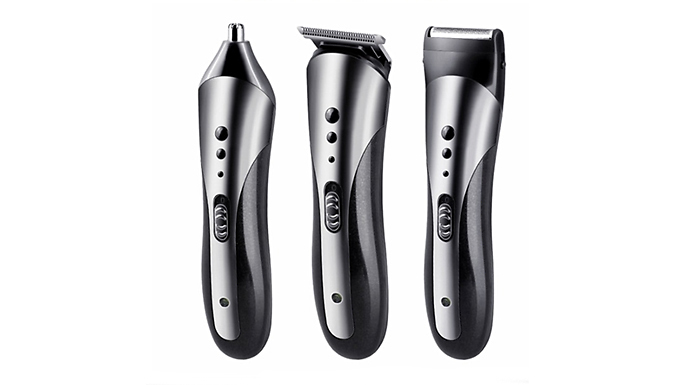3-in-1 Waterproof Electric Cordless Hair Clipper, Trimmer & Razor from J-Star Direct