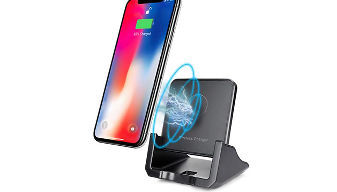 10W Smart Phone Wireless Charger - 2 Colours