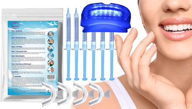 Dental Quality Home Teeth Whitening Kit With UV Light