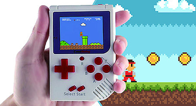8-Bit Classic Handheld Games Console