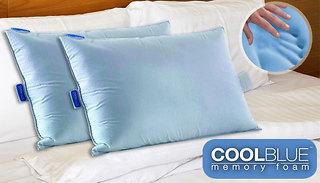 Trusleep CoolBlue Pillows 3 PACK