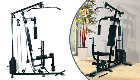 Gogroopie multi purpose home fitness station exercise arms