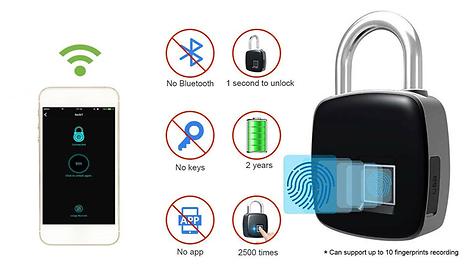 GoGroopie Anytech P3 Plus Fingerprint Keyless Smart Lock