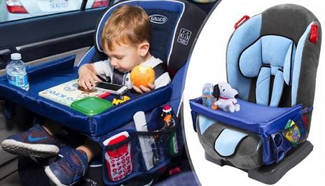 GoGroopie Adjustable Toddler Car Seat Play Tray