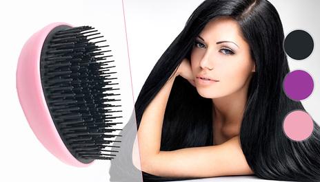 gogroopie professional de tangling hair brush 3 colours