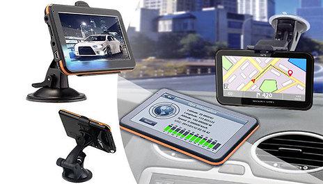 GoGroopie HD Car Sat Nav with European Maps on sat cartoon, sat score chart 2014, sat prep book,