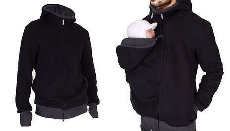 Gogroopie Unisex Kangaroo Hoodie Pouch For Your Baby