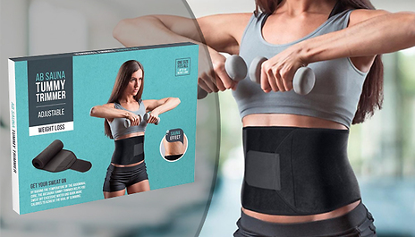 00c29c13e9f Save 75% and turn up the heat during your workout with the Sauna Sweat Belt  For Abs   Lower Back for just £4.99