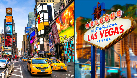 3 Nights In New York And Las Vegas Usa With Flights From 599 Per Person Based On Two Sharing